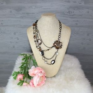 NY&Co. Animal Print Necklace